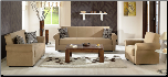 Elita S Rainbow Dark Beige Living Room Set - Sunset Furniture - Istikbal