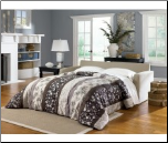 Addison Khaki Queen Sofa Sleeper