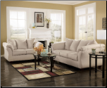Darcy  Contemporary  Living Room Sofa  Set with Accent Pillows by Signature  Ashley (SKU: AB-75000-L-SET)