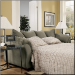 Darcy Contemporary Full Sleeper with Flared Back Pillows by Signature Design by Ashley (SKU: AB-75003-SL)