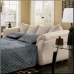 Darcy Contemporary Full Sleeper with Flared Back Pillows by Signature Design by Ashley