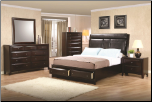 Phoenix Platform Bed - 300369 - Coaster Furniture (SKU: CO-  200419-KSET)