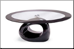 Coffee Table-Black Ceramic - Global Furniture USA(04) (SKU: GL-04-CTSET)