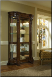 Dark - Wood - Curio By Pulaski (SKU: PLS-102003)