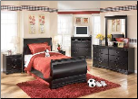 Huey Vineyard  - Twin Bedroom Set Signature Design by Ashley Furniture (SKU: AB-B128T)