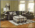 Westen Chocolate Sectional Set (SKU: AB -19500)