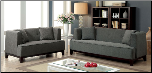 2-Pcs Beige Fabric Sofa Set / CM6761 (SKU: CM-6761GR)