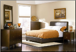 Tamara Bedroom Set in Walnut Finish by Coaster - 201150 (SKU: CO-201150-KINGSET)