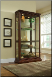 Estate Oak - Curio By Pulaski Furniture (SKU: PLS-20542C)