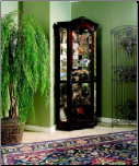Estate Oak - Curio By Pulaski Furniture