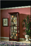 cherry wood  - Curio By Pulaski Furniture (SKU: PLS-20717)