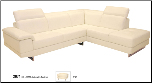 2071 Sectional (Multiple Colors) by J&M Furniture