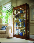 Fawn oak II - Curio by Pulaski Furniture (SKU: PLS-20808)