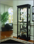 Oxford black - Curio By Pulaski Furniture (SKU: PLS-20819)