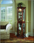 Cherry  - Curio By Pulaski Furniture