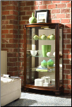 Estate Oak - Curio By Pulaski Furniture (SKU: PLS-20878)