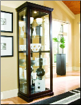 Chocolate Cherry II - Curio By Pulaski  furniture