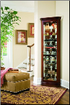 Estate Oak - Curio By Pulaski Furniture (SKU: PLS-21001)
