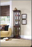 Estate Oak - Curio By Pulaski Furniture (SKU: PLS-21213)