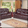 639BUR Living Room Set