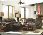 Reclining Living Room Set with Contemporary Design, DuraBlend Collection (SKU: AB- 22200-LR-SET)
