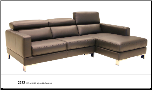 2222 Sectional (Multiple Colors) by J&M Furniture (SKU: JM-2222)