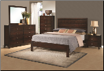 Grove Headboard  Bedroom  Set by Coaster (SKU: CO 300370-QSET)