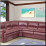 645BURG  Living Room Sectional Set