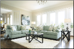 DAYSTAR - SEAFOAM LIVING ROOM SET BY ASHLEY DESIGN