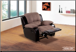Contemporary Design Rocker Recliner (SKU: EM-622BE-R)
