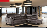 ESF  - Evelin Sectional Leather Sectional Sofa Set - ESF Furniture