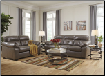 Presley Cocoa Reclining Sectional Living Room Set (SKU: AB -44600)