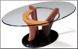 "Round Glass Coffe Table Set ""5443"" By Global Furniture USA (SKU: GL-5443CH-CTSET)"