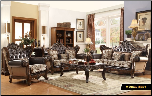 601 Treaditional  2 PC Living Room Set (Sofa and Loveseat)