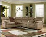 Amazon-Mocha 2 Pc. Reclining Sectional Signature Design by Ashley Furniture