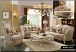 621 Treaditional  2 PC Living Room Set (Sofa and Loveseat)