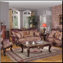 682 2 PC Living Room Set (Sofa and Loveseat)