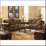 Crawford-Chocolate Living Room Set Signature Design by Ashley Furniture