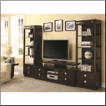 TV Console & 2 Media Towers (SKU: CO-700696 / 2 x 800354)