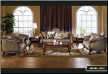 603 Treaditional  2 PC Living Room Set (Sofa and Loveseat)