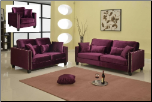 608 2 PC Living Room Set (Sofa and Loveseat)
