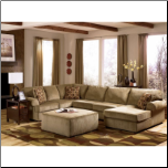 Vista - Cappuccino  Sectional Set by Signature Design (SKU: AB-68405-SEC-SET)