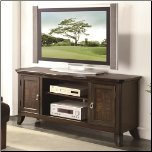 TV Console with Parquet Veneers (SKU: CO-700901)