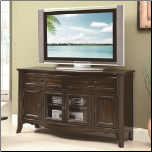 Traditional Cherry Finish TV Console (SKU: CO-700912)