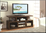 Casual TV Console with Open Storage