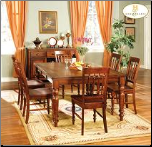 Oxford Collection (Cherry) - Dining Room Set (SKU: HE-729C)
