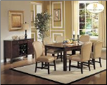 Europa Collection - Dining Room Set (Mashroom)