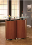 Bar Cabinet Cherry By Global Furniture