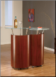 Bar Cabinet Mahogany By Global Furniture
