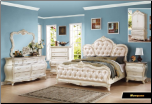 Marquee - Elegant Solid Wood Traditional Bedroom Set by Empire Furniture Design (SKU: EM-Marquee-QSET)